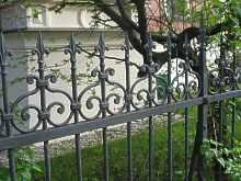 Gartenz une aus aluminium planung seiler zaun design - Eisen gartenzaun ...